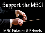Be a Patron and Friend of the MSC! Join Now!